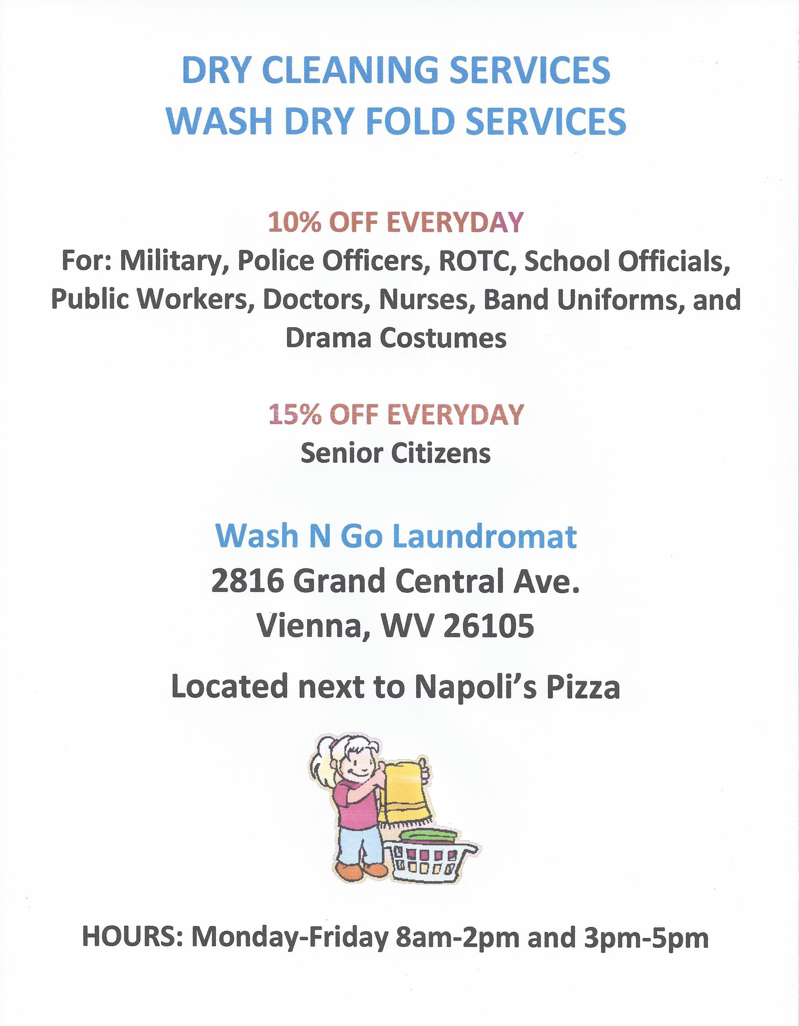 Wash N Go Laundromat Vienna Wv Kbi Real Estate Llc